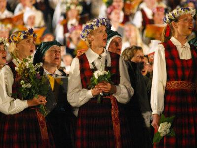 Latvian song festival